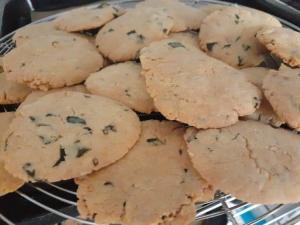 藍のクッキー