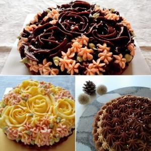 2020クリスマスホールケーキ