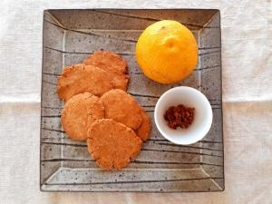 柚子味噌クッキー