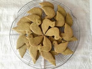 みどりのはとクッキー02