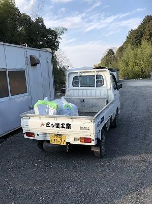 三ツ星工業軽トラック完成