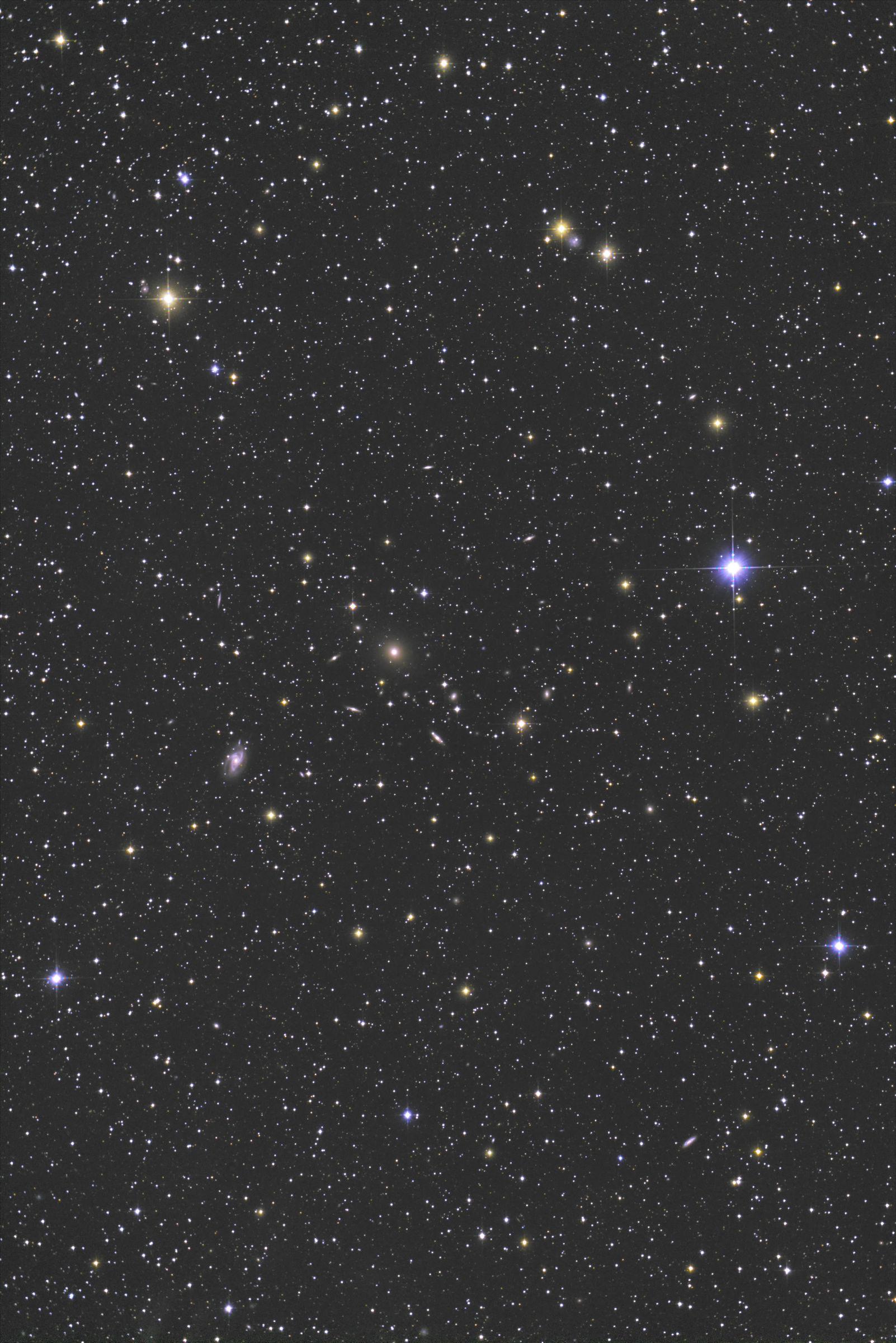 【銀河群】おとめ座 NGC5044銀河群
