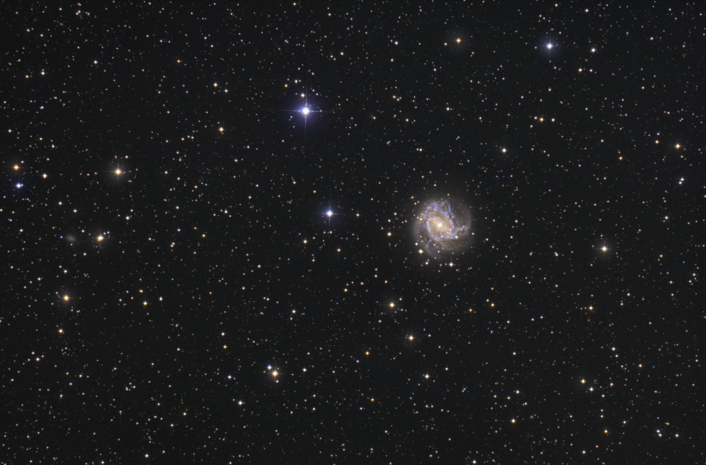 【銀河】M83 南の回転花火銀河