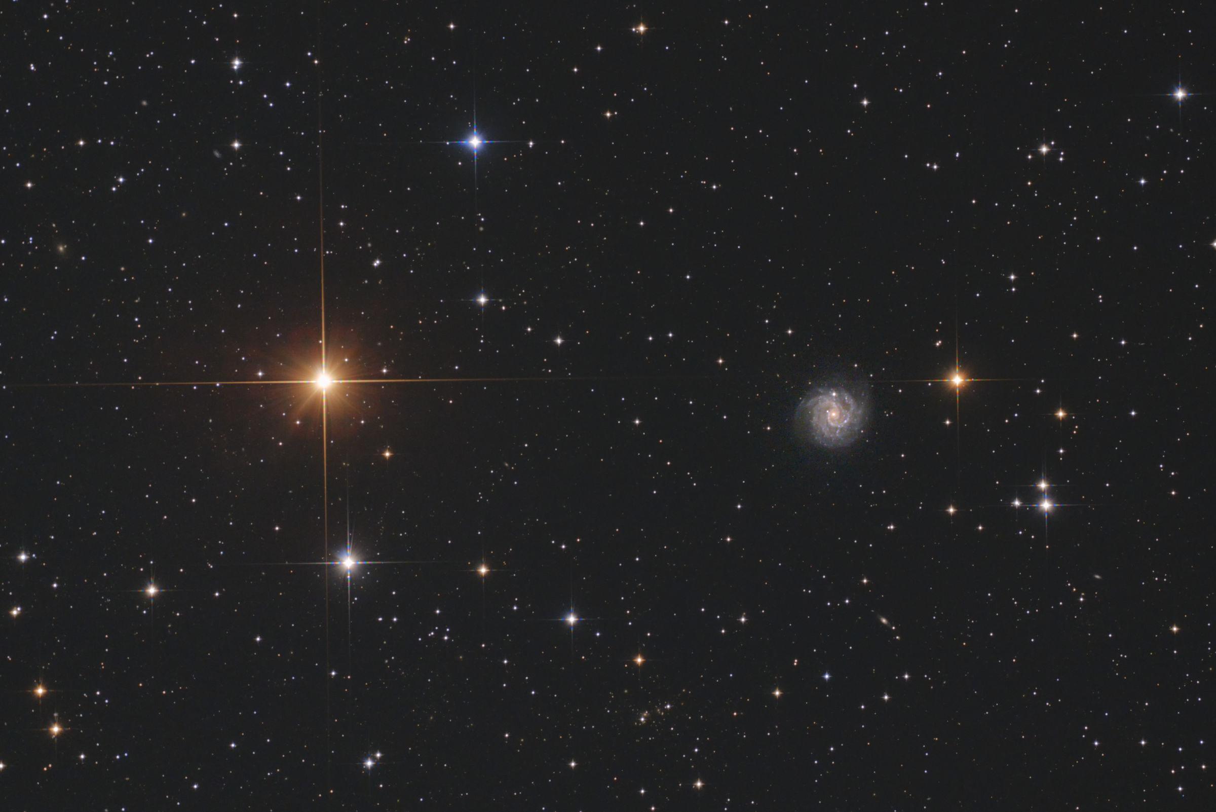 【銀河】タニア・アウストラリス(とNGC3184)