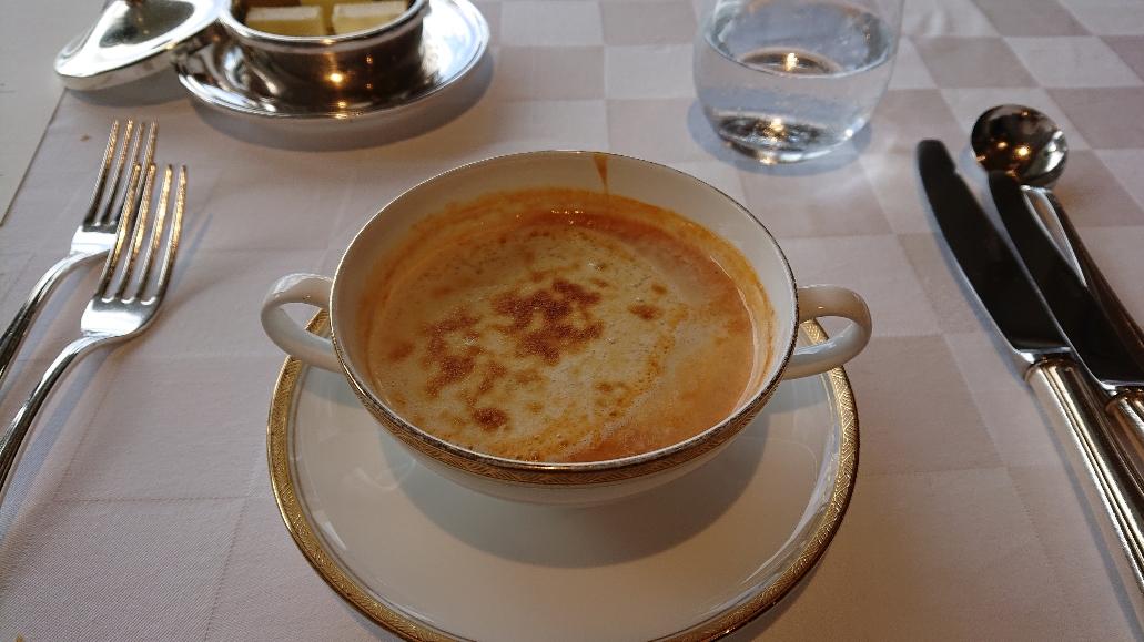 ラ・メール③ 伊勢エビのスープ