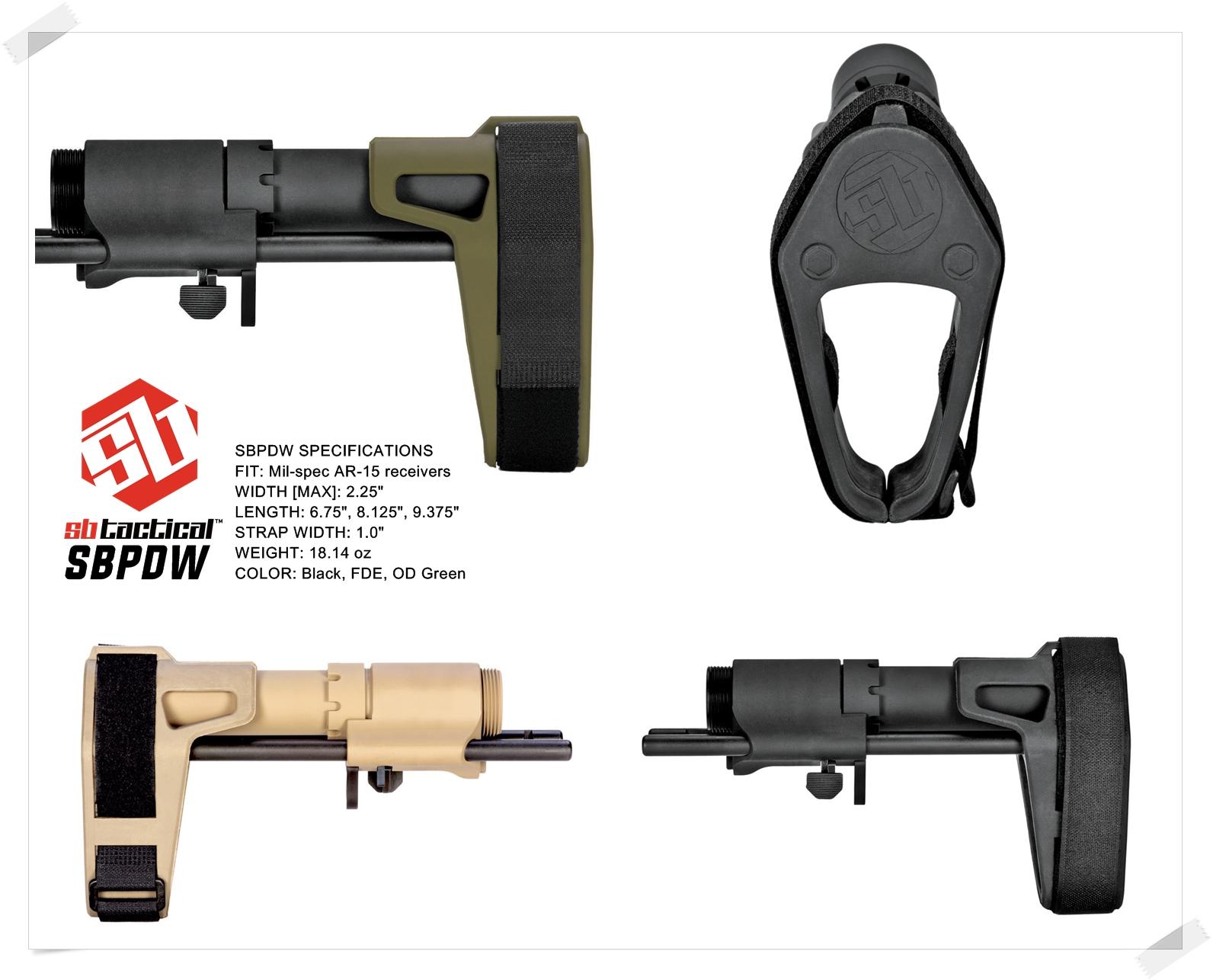 4-1 SB TACTICAL SB-PDW TYPE!! ちょっと気になって 購入~検証~DIY してみた!! STD電動ガン専用 M4 AR-15 スタビブレース バットストック & NOVESKE GEN3 MB専用 ポン付け ストック スリング プレート作製!!