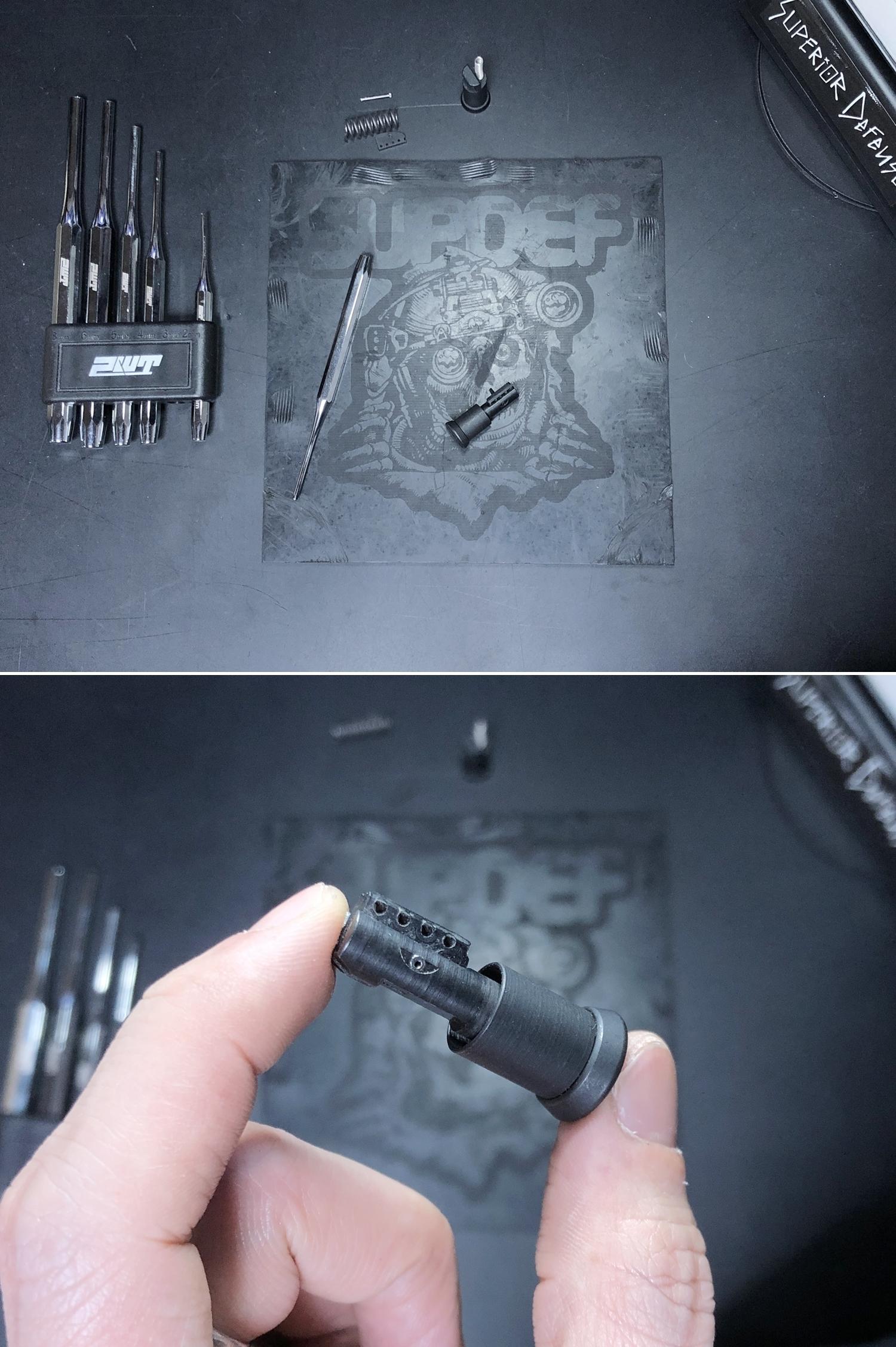 13 実物 NOVESKE MARKED FORWARD ASSIST KIT!! 次世代 AR-15 HILOG M4 N4 プチ DIY カスタム編!! フォワードアシストノブ フォアードアシスト!! 3D DIY 購入 加工 取付 交換 レビュー!!