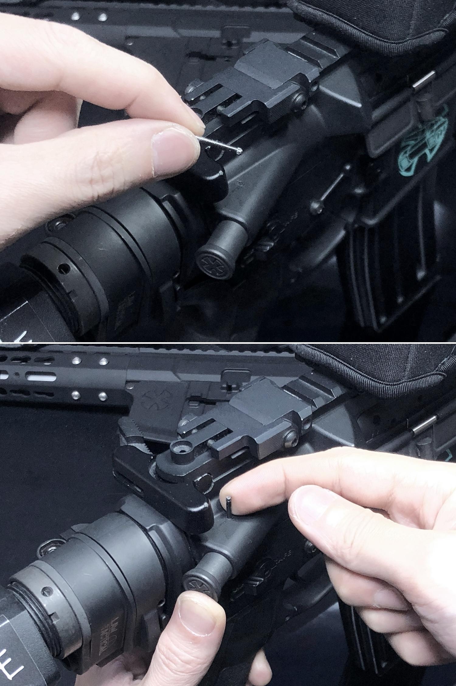 18 実物 NOVESKE MARKED FORWARD ASSIST KIT!! 次世代 AR-15 HILOG M4 N4 プチ DIY カスタム編!! フォワードアシストノブ フォアードアシスト!! 3D DIY 購入 加工 取付 交換 レビュー!!