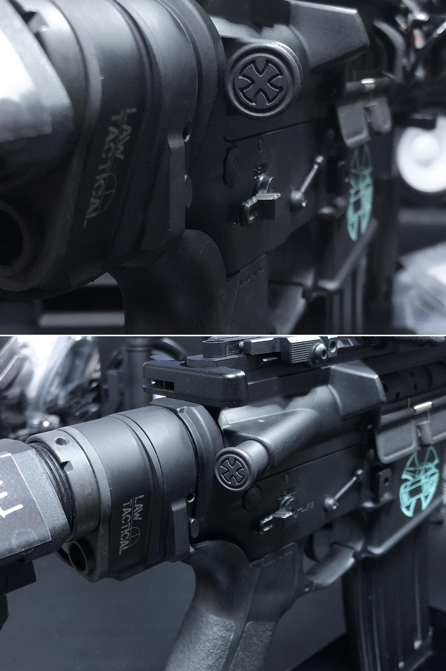 20 実物 NOVESKE MARKED FORWARD ASSIST KIT!! 次世代 AR-15 HILOG M4 N4 プチ DIY カスタム編!! フォワードアシストノブ フォアードアシスト!! 3D DIY 購入 加工 取付 交換 レビュー!!