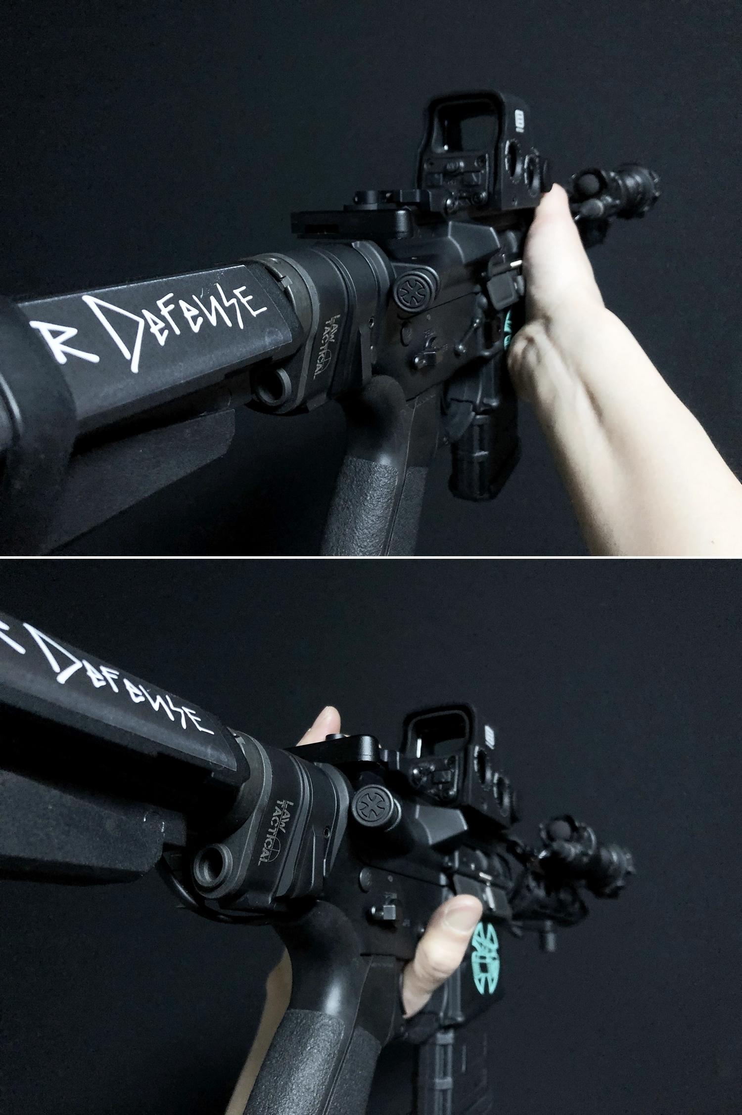 22 実物 NOVESKE MARKED FORWARD ASSIST KIT!! 次世代 AR-15 HILOG M4 N4 プチ DIY カスタム編!! フォワードアシストノブ フォアードアシスト!! 3D DIY 購入 加工 取付 交換 レビュー!!