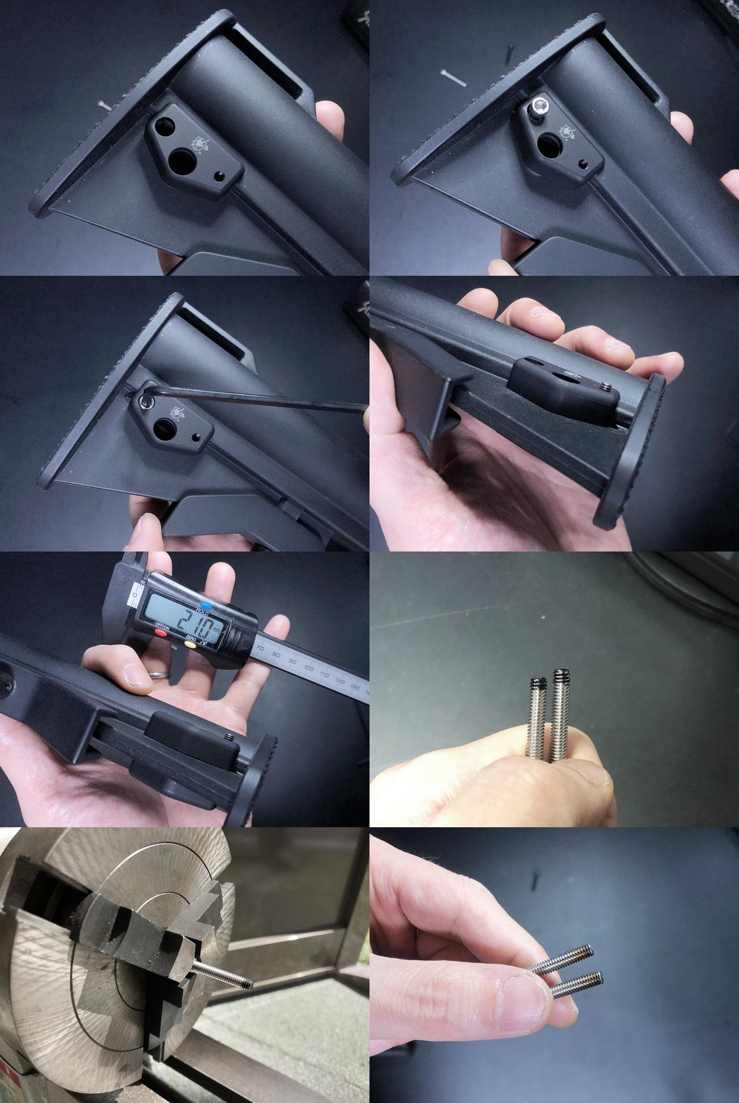 17 実物 Knight's Armament M4 Carbine Buttstock QD Sling Mount Kit & JOHN MASEN DELTA PAD & REMAKE M733 COMMANDOS STOCK!! DIY NOVESKE PIG!! KAC ナイツ QD デルタパッド!! 購入 取付 カスタム レビュー!!