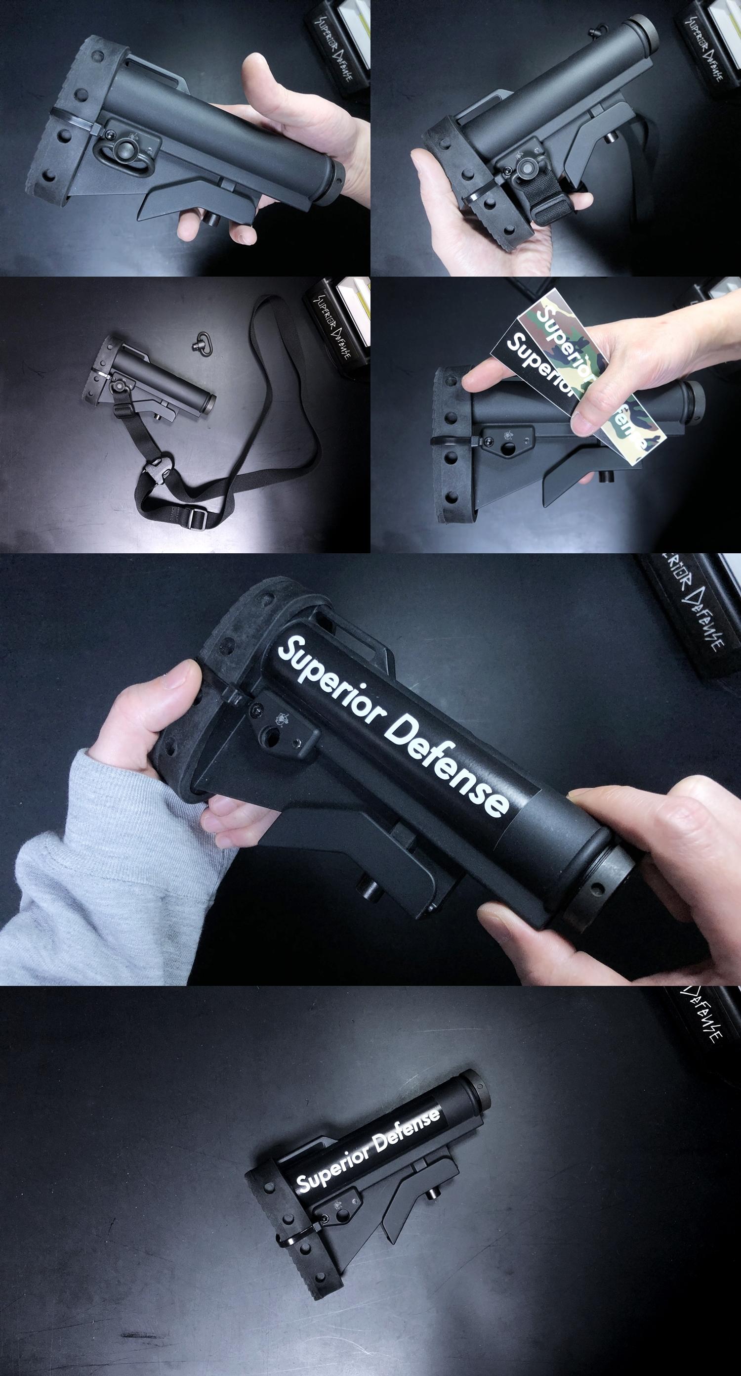 21 実物 Knight's Armament M4 Carbine Buttstock QD Sling Mount Kit & JOHN MASEN DELTA PAD & REMAKE M733 COMMANDOS STOCK!! DIY NOVESKE PIG!! KAC ナイツ QD デルタパッド!! 購入 取付 カスタム レビュー!!