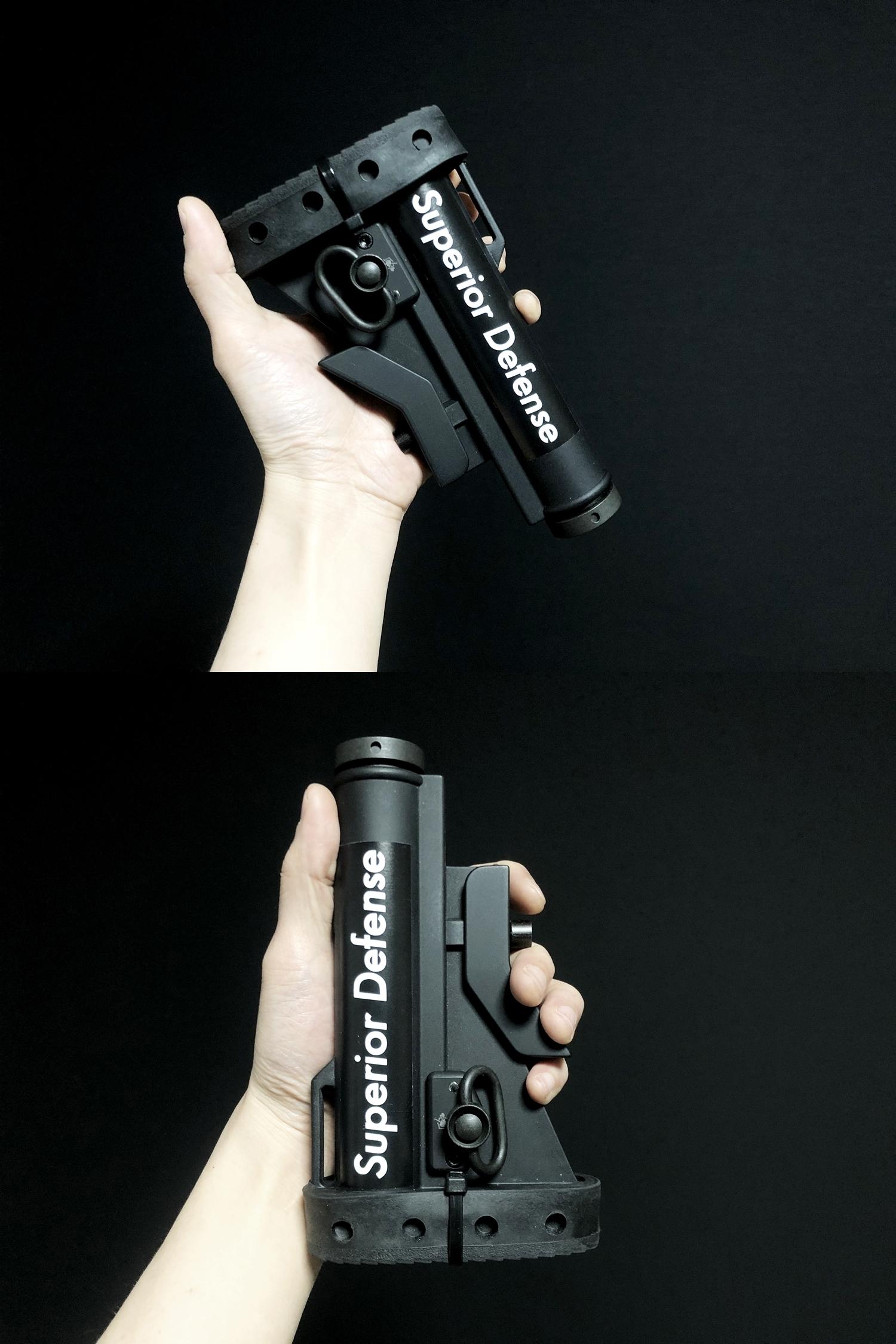 22 実物 Knight's Armament M4 Carbine Buttstock QD Sling Mount Kit & JOHN MASEN DELTA PAD & REMAKE M733 COMMANDOS STOCK!! DIY NOVESKE PIG!! KAC ナイツ QD デルタパッド!! 購入 取付 カスタム レビュー!!