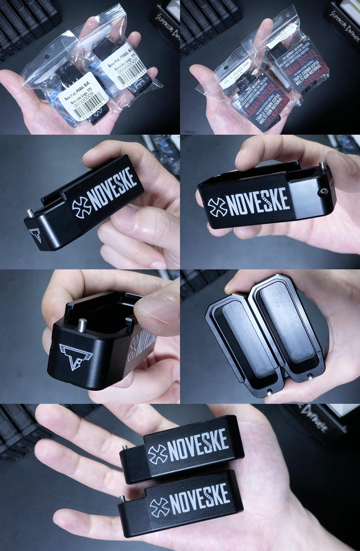 9 実物 NOVESKE TTI PMAG BASE PAD + STD M4 PMAG AMAG GEN3!! DIY HILOG ORIGINAL TTI INNER BASE PAD!! 部品作製 加工 取付 レビュー!!