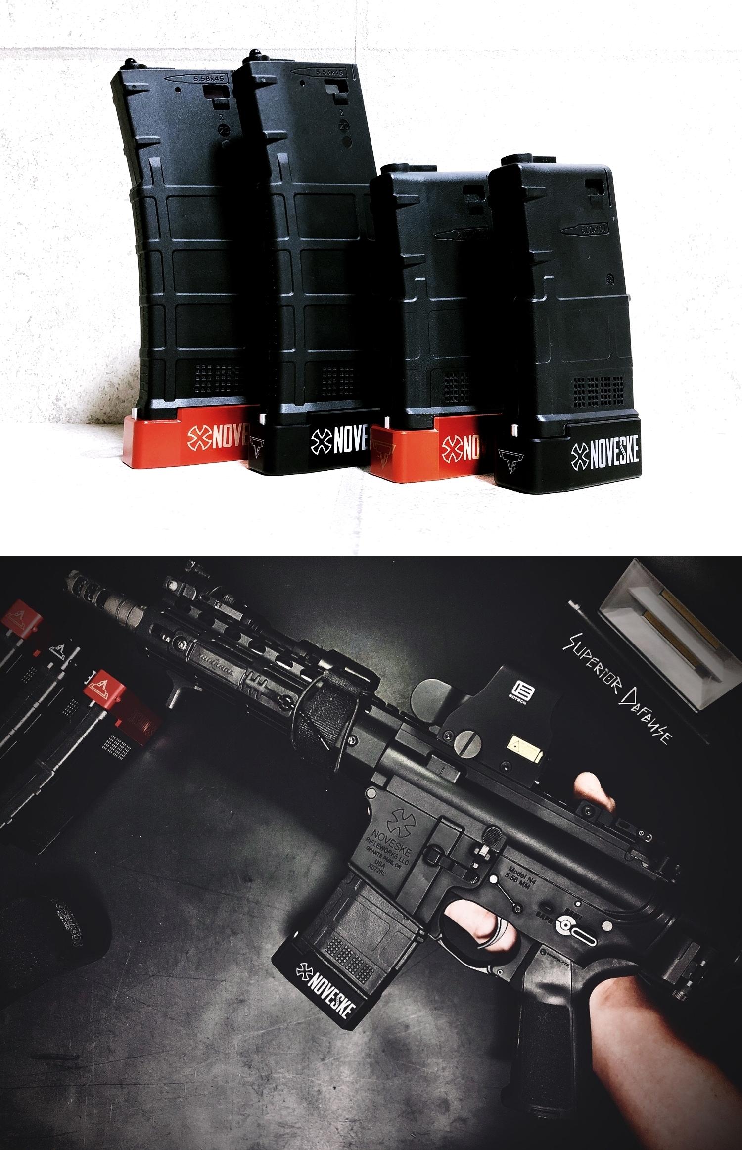 24 実物 NOVESKE TTI PMAG BASE PAD + STD M4 PMAG AMAG GEN3!! DIY HILOG ORIGINAL TTI INNER BASE PAD!! 部品作製 加工 取付 レビュー!!