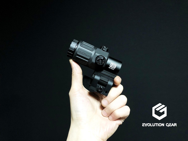 0 EVOLUTION GEAR EOTech G33 MAGNIFIER!! エボギア 3倍 ブースター マグニファイア買ってみた!! 高品質6枚レンズの実力は如何に! 開封 検証 取付 レビュー!! したるの巻!!