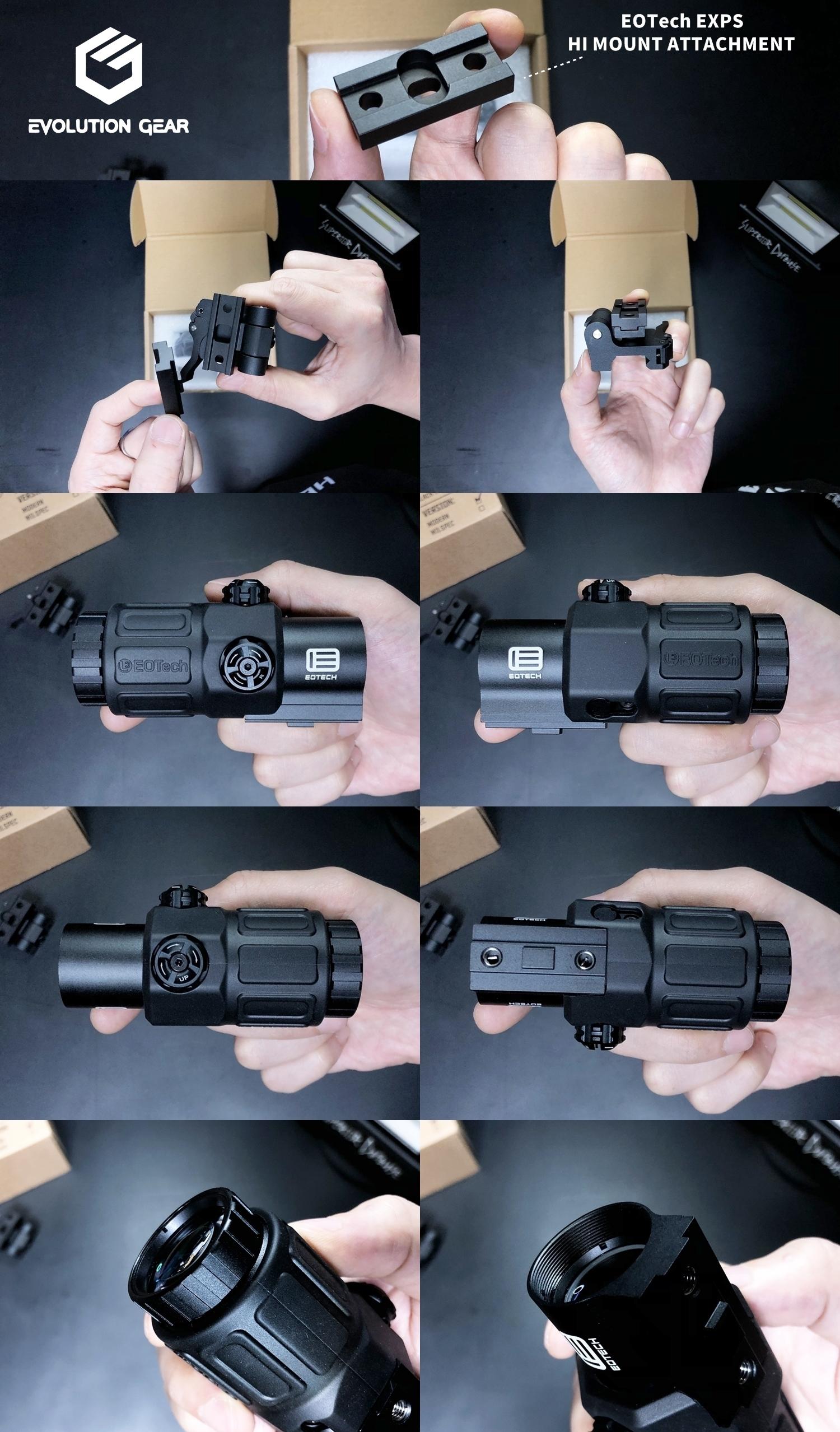 3 EVOLUTION GEAR EOTech G33 MAGNIFIER!! エボギア 3倍 ブースター マグニファイア買ってみた!! 高品質6枚レンズの実力は如何に! 開封 検証 取付 レビュー!! したるの巻!!