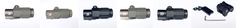 PR3 EVOLUTION GEAR EOTech G33 MAGNIFIER!! エボギア 3倍 ブースター マグニファイア買ってみた!! 高品質6枚レンズの実力は如何に! 開封 検証 取付 レビュー!! したるの巻!!