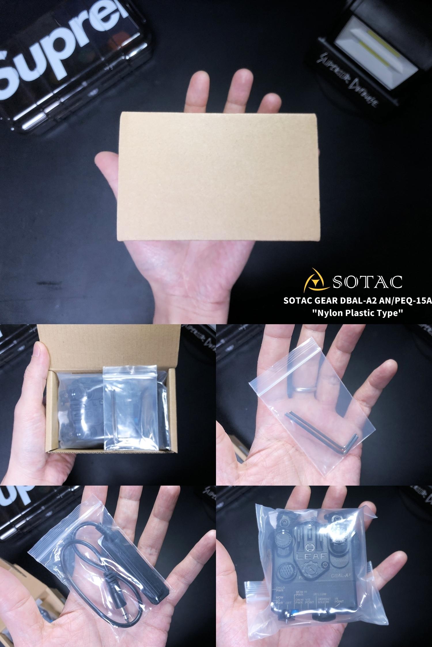 1 SOTAC GEAR DBAL-A2 ANPEQ-15A!! 巷で噂の新製品!!軽量ナイロン製だ!!果たしてLEDライト機能だけなのか! レーザーオミット解除方法!! 購入 検証 比較 解除 取付 レビュー!!