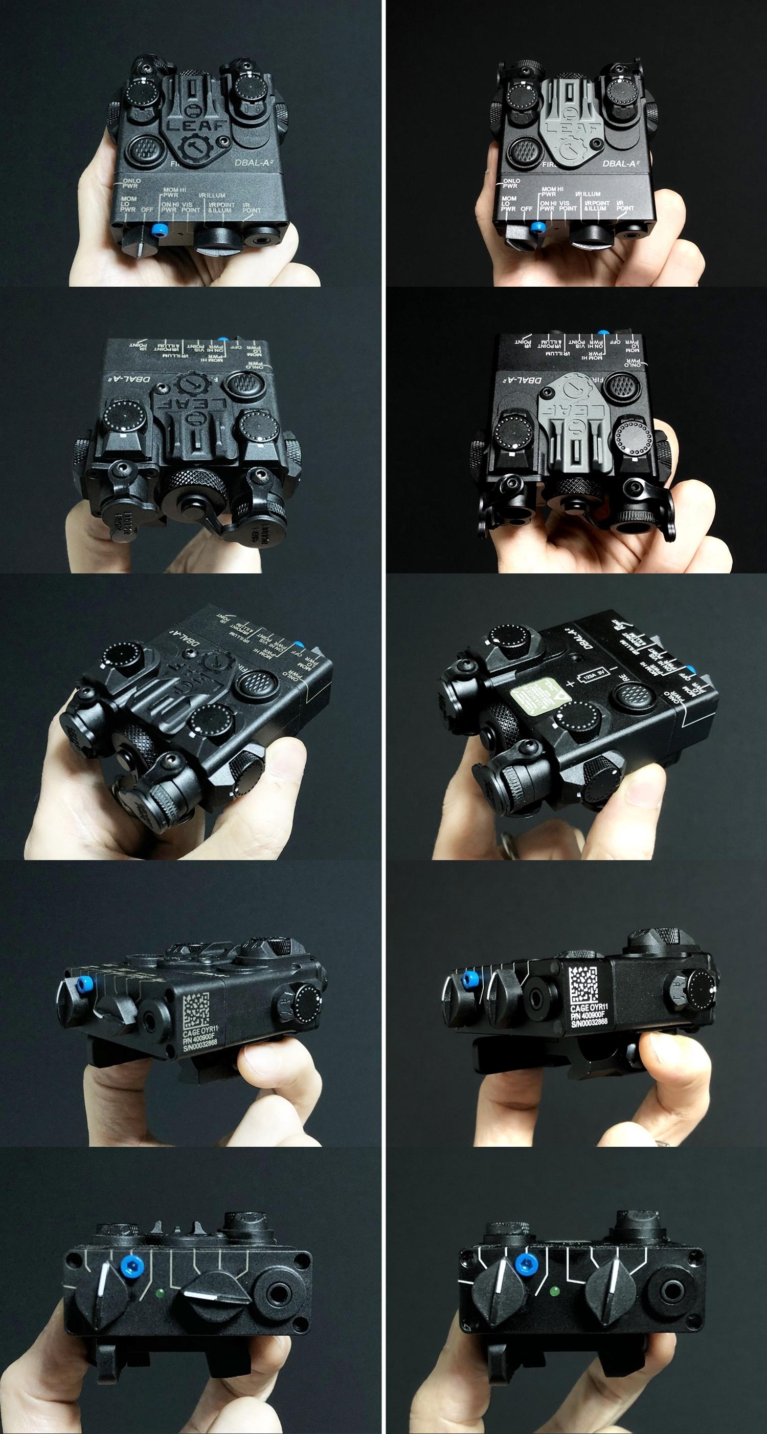 4 SOTAC GEAR DBAL-A2 ANPEQ-15A!! 巷で噂の新製品!!軽量ナイロン製だ!!果たしてLEDライト機能だけなのか! レーザーオミット解除方法!! 購入 検証 比較 解除 取付 レビュー!!