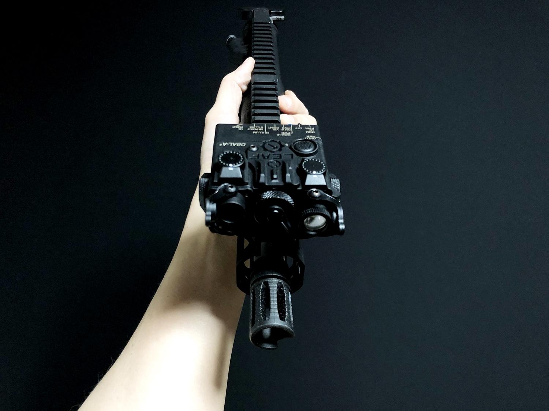 16 SOTAC GEAR DBAL-A2 ANPEQ-15A!! 巷で噂の新製品!!軽量ナイロン製だ!!果たしてLEDライト機能だけなのか! レーザーオミット解除方法!! 購入 検証 比較 解除 取付 レビュー!!