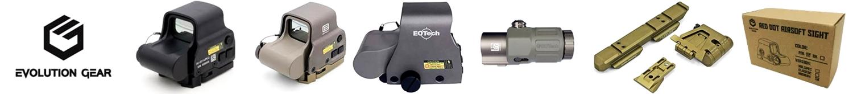 PR EVOLUTION GEAR EOTech ダットサイト ドットサイト ホロサイト レプリカ タイプ