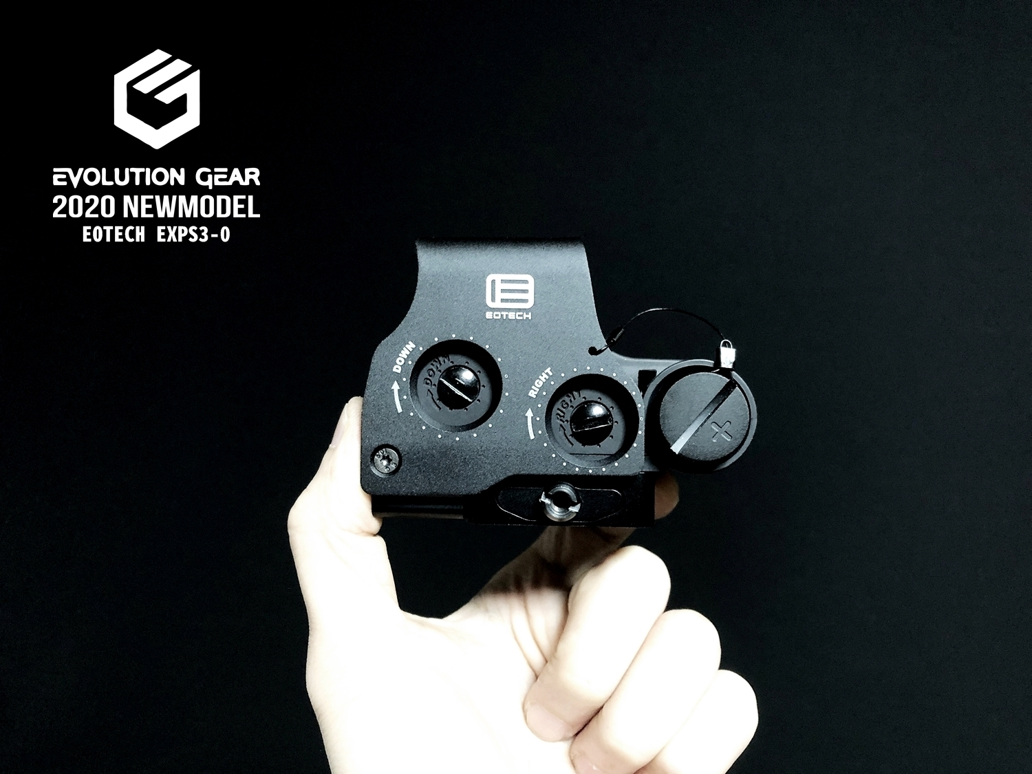 0 EVOLUTION GEAR 2020 改良版 EOTech EXPS3-0 NEW!! 最新リアルバージョンの改良点を徹底検証だ!! 新エボギア & 旧エボギア & 実物 イオテック ホロサイト!! 開封 比較 検証 取付 レビュー!!