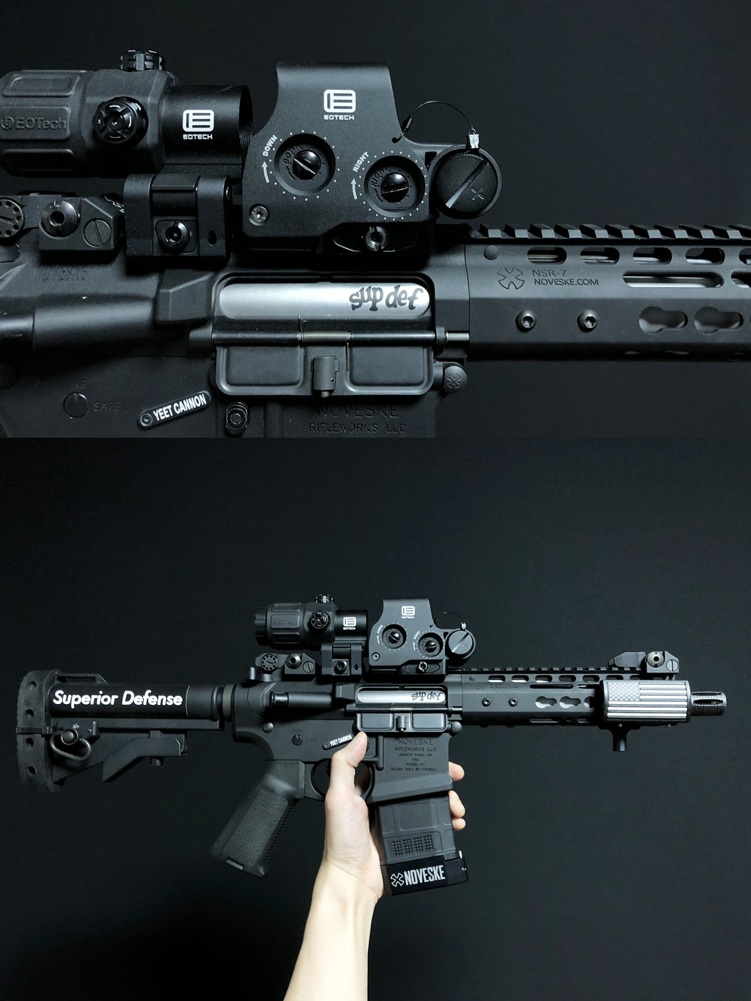 15 EVOLUTION GEAR 2020 改良版 EOTech EXPS3-0 NEW!! 最新リアルバージョンの改良点を徹底検証だ!! 新エボギア & 旧エボギア & 実物 イオテック ホロサイト!! 開封 比較 検証 取付 レビュー!!