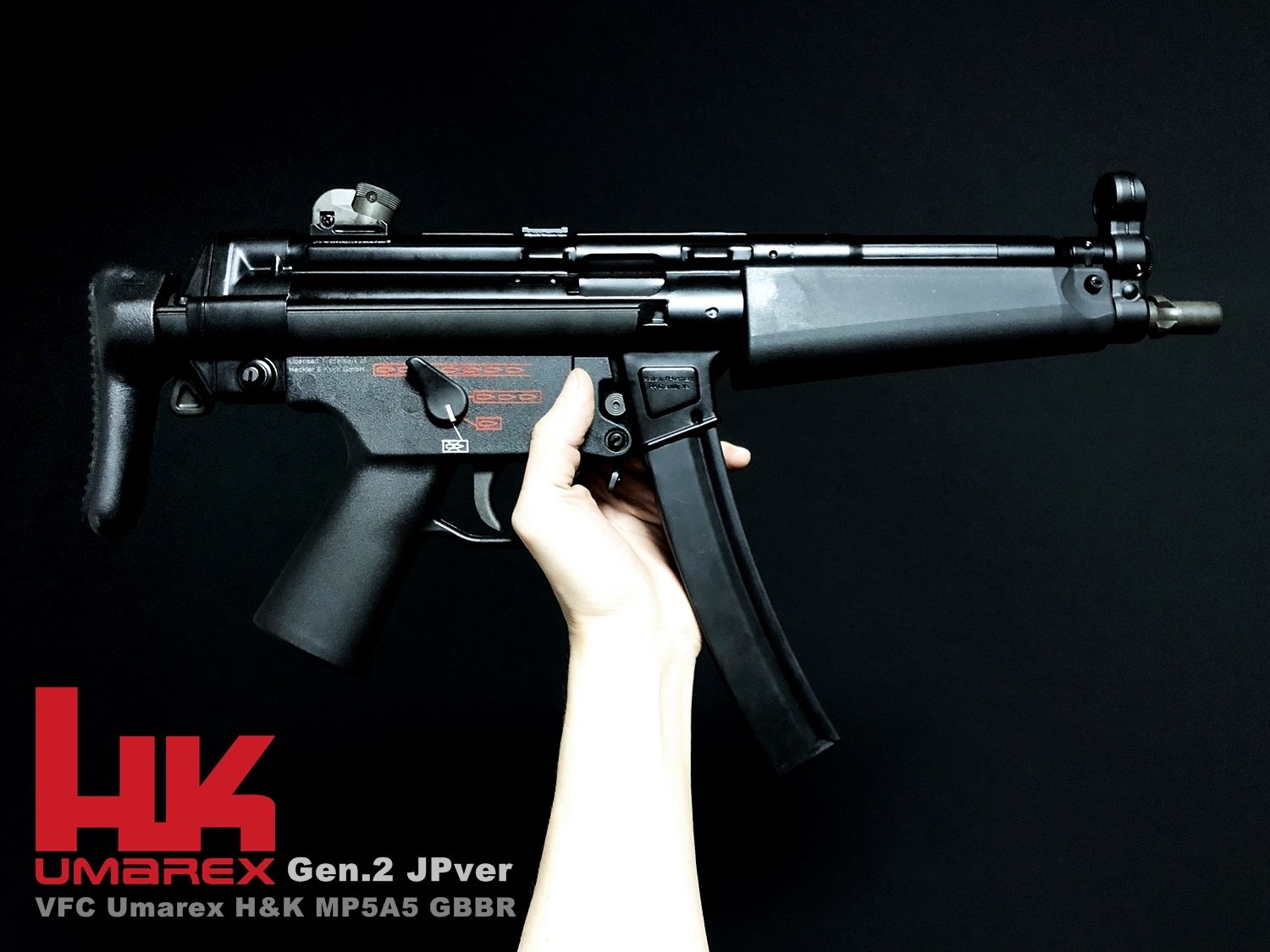 0 Umarex H&K VFC MP5A5 Gen2 GBBR JPver HK Licensed!! VFC GBB MP5 ガスブロ GET ~ 新品箱出し編!! 購入 箱出 初速 検証 通常分解 組立 レビュー!!