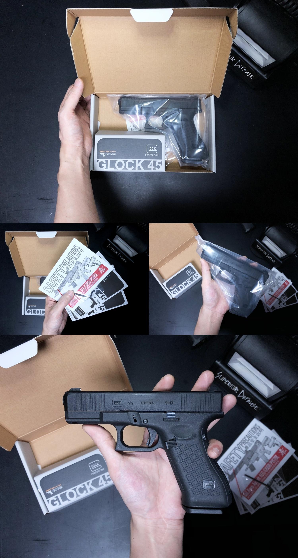 4 UMAREX VFC GLOCK G45 GBB AIRSOFT!! 噂のウマレックス G45 グロック ガスブローバック!! やっと我が家へ着弾 ~ 新品箱出し編!! 購入 開封 初速 計測 検証 比較 通常分解 組立 カスタム レビュー!!