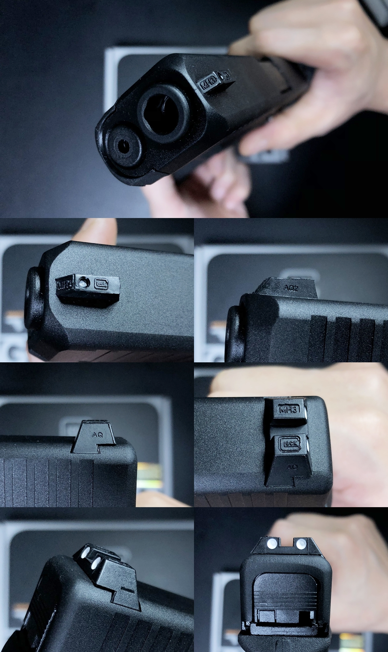 6 UMAREX VFC GLOCK G45 GBB AIRSOFT!! 噂のウマレックス G45 グロック ガスブローバック!! やっと我が家へ着弾 ~ 新品箱出し編!! 購入 開封 初速 計測 検証 比較 通常分解 組立 カスタム レビュー!!