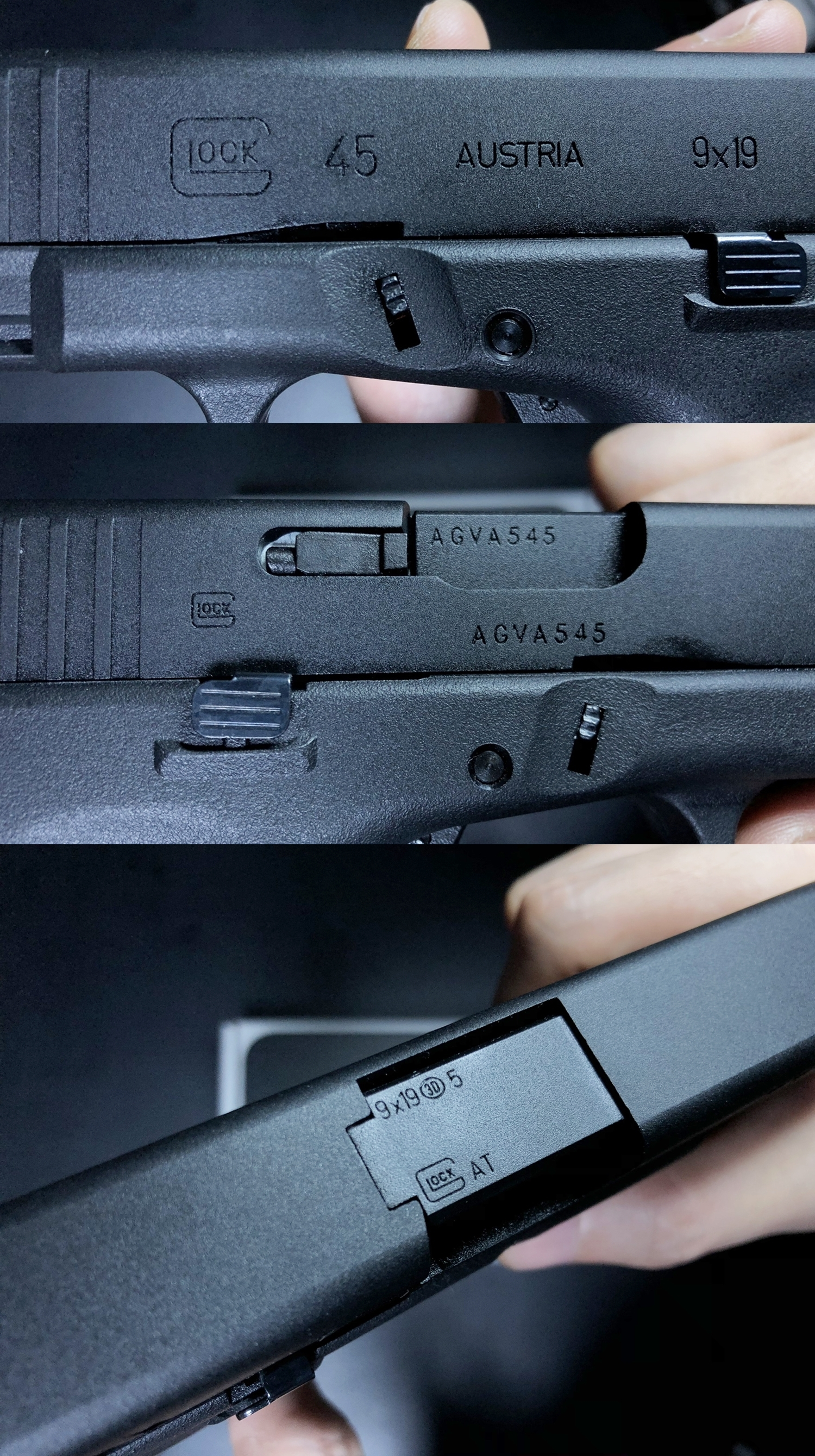 7 UMAREX VFC GLOCK G45 GBB AIRSOFT!! 噂のウマレックス G45 グロック ガスブローバック!! やっと我が家へ着弾 ~ 新品箱出し編!! 購入 開封 初速 計測 検証 比較 通常分解 組立 カスタム レビュー!!