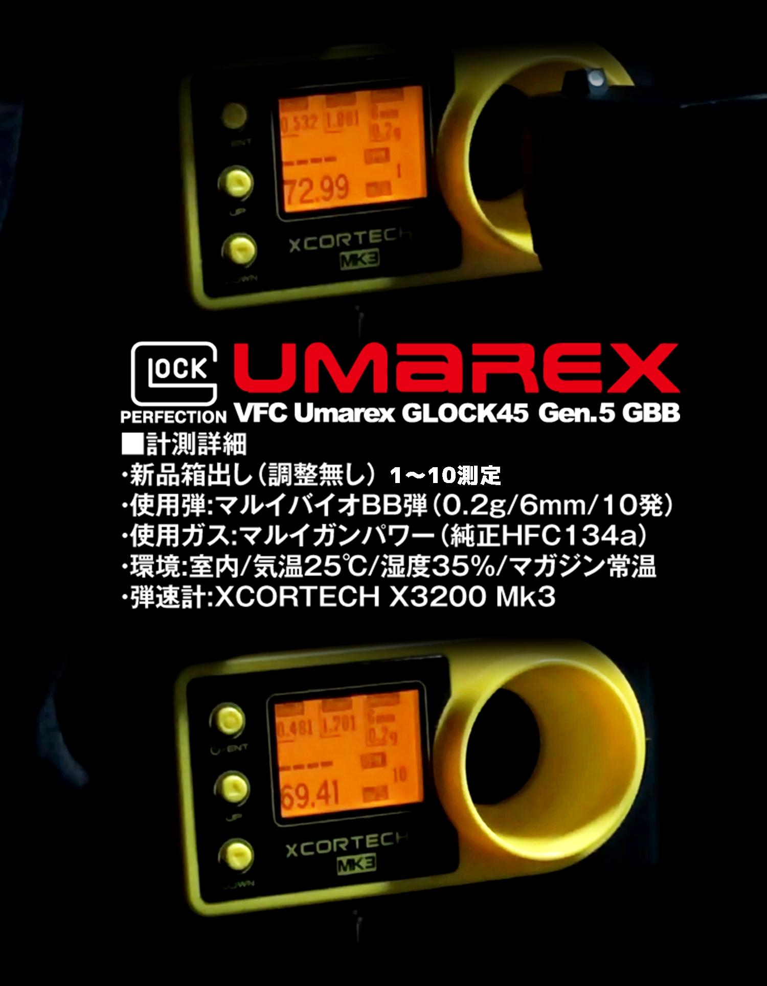12 UMAREX VFC GLOCK G45 GBB AIRSOFT!! 噂のウマレックス G45 グロック ガスブローバック!! やっと我が家へ着弾 ~ 新品箱出し編!! 購入 開封 初速 計測 検証 比較 通常分解 組立 カスタム レビュー!!