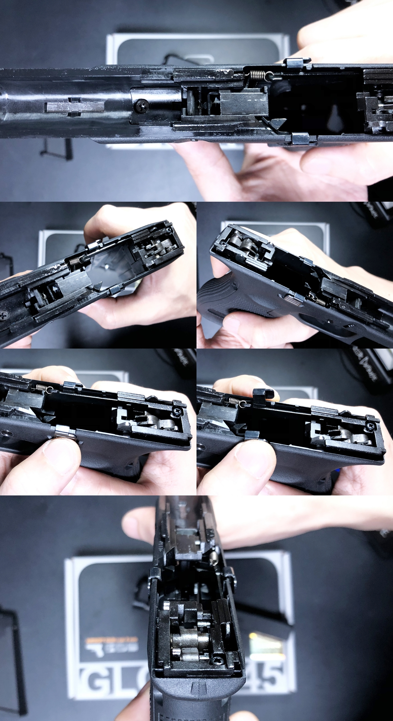 15 UMAREX VFC GLOCK G45 GBB AIRSOFT!! 噂のウマレックス G45 グロック ガスブローバック!! やっと我が家へ着弾 ~ 新品箱出し編!! 購入 開封 初速 計測 検証 比較 通常分解 組立 カスタム レビュー!!