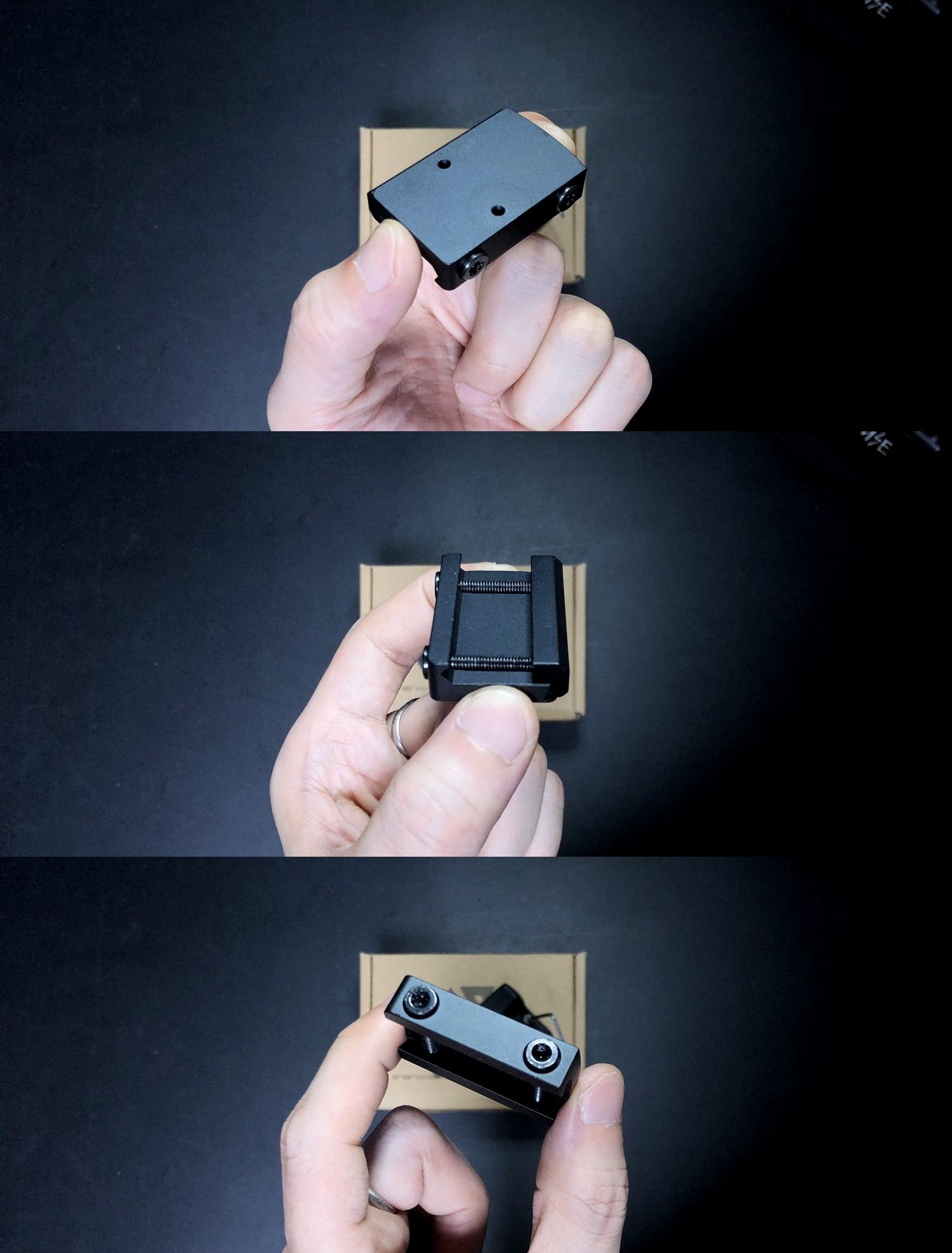 3 HolyWarrior製 RMR Trijicon Type ドットサイト GET!! 噂のHW製 最新 超軽量 複合材質 樹脂 タイプを購入したけど速攻で仲間に奪われました(笑)!! Glock G17 GBB カスタム!! 購入 開封 取付 加工 レビュー!!