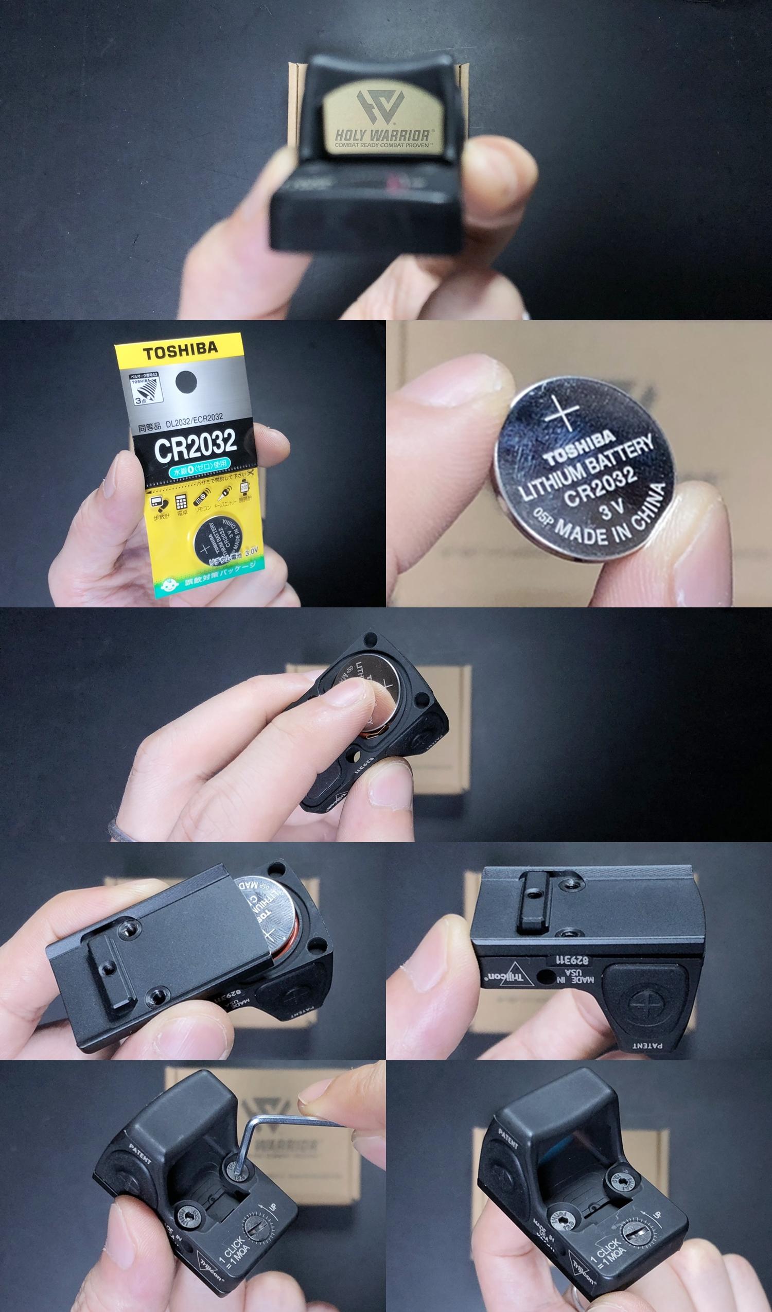 5 HolyWarrior製 RMR Trijicon Type ドットサイト GET!! 噂のHW製 最新 超軽量 複合材質 樹脂 タイプを購入したけど速攻で仲間に奪われました(笑)!! Glock G17 GBB カスタム!! 購入 開封 取付 加工 レビュー!!