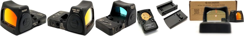 PR1 HolyWarrior製 RMR Trijicon Type ドットサイト GET!! 噂のHW製 最新 超軽量 複合材質 樹脂 タイプを購入したけど速攻で仲間に奪われました(笑)!! Glock G17 GBB カスタム!! 購入 開封 取付 加工 レビュー!!