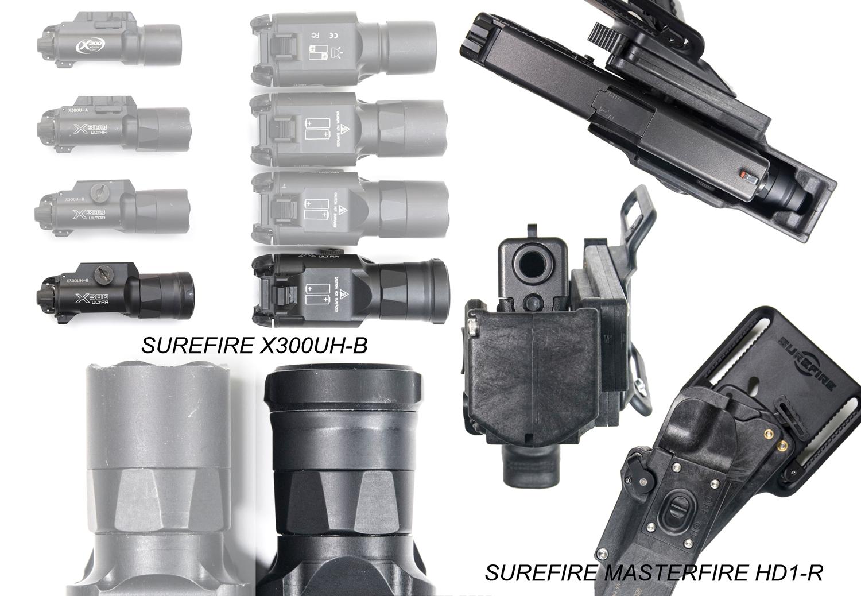 8 SOTAC GEAR SUREFIRE X300UH-B TYPE GET!! G19カスタム用に 実物 X300U-B が欲しかったけど…我慢! X300 シリーズ レプリカ シュアファイア! 購入 開封 比較 検証 取付 レビュー!