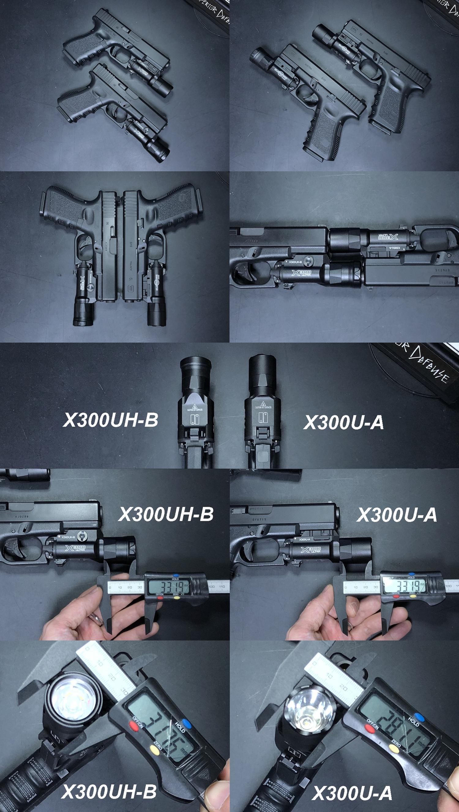 11 SOTAC GEAR SUREFIRE X300UH-B TYPE GET!! G19カスタム用に 実物 X300U-B が欲しかったけど…我慢! X300 シリーズ レプリカ シュアファイア! 購入 開封 比較 検証 取付 レビュー!