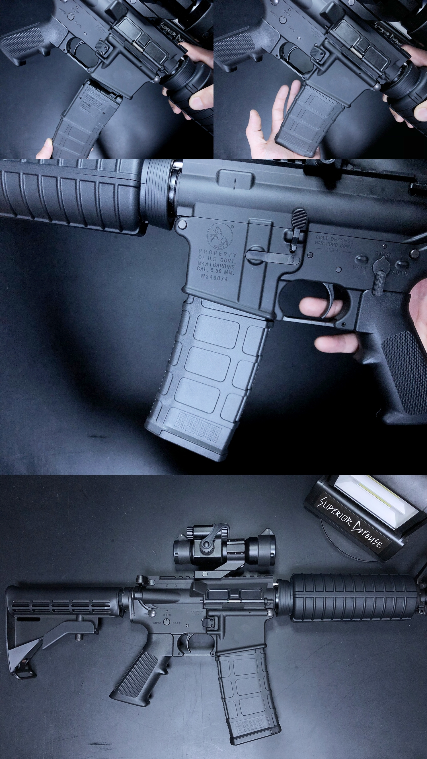 12 MAGPUL TYPE DYTAC ENHANCED AR MAGAZINE RELEASE & ACE 1 ARMS P-MAG FOR MWS GBB!! DEVILSIXさんからお荷物が着弾しました!! HILOG ORIGINAL 3D マグリリースボタン簡易的交換ツール制作!! 購入 開封 取付 検証
