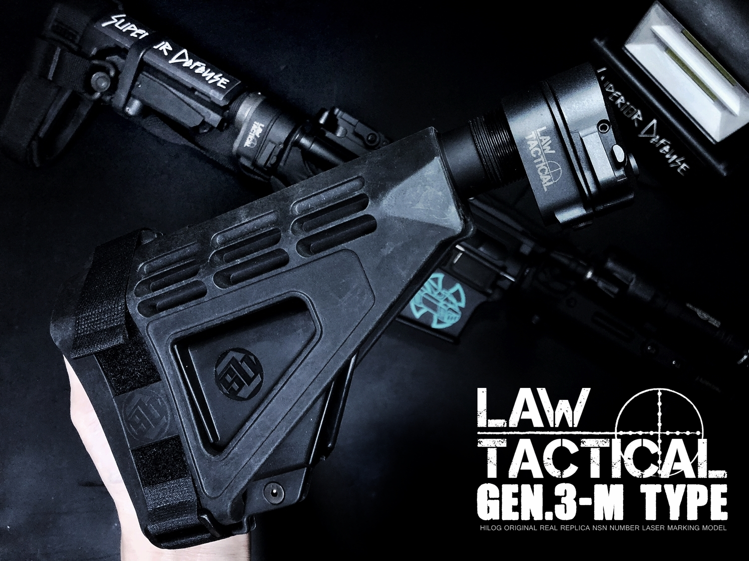 0 LAW TACTICAL GEN 3-M