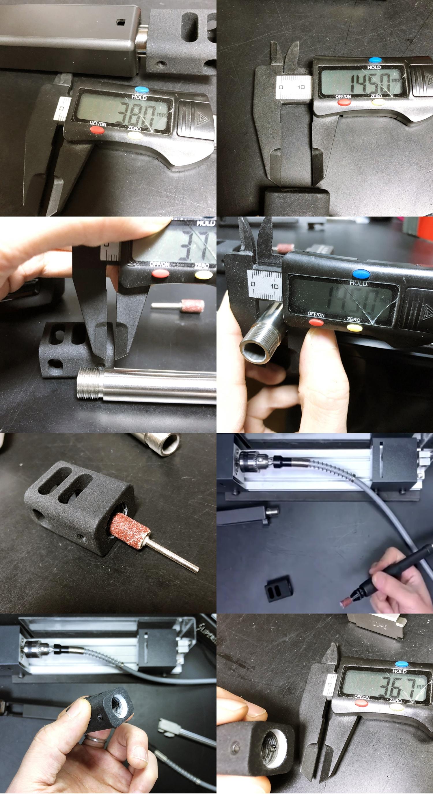 8 Guns Modify KKM PRECISION GLOCK ステンレスアウターバレル 東京マルイ G17 G18C GBB GET! リアルで重量感あるCNC 精密切り出し加工! BARREL+PROTECTOR+ショートリコイルアシストスプリング+インナーバレルセット
