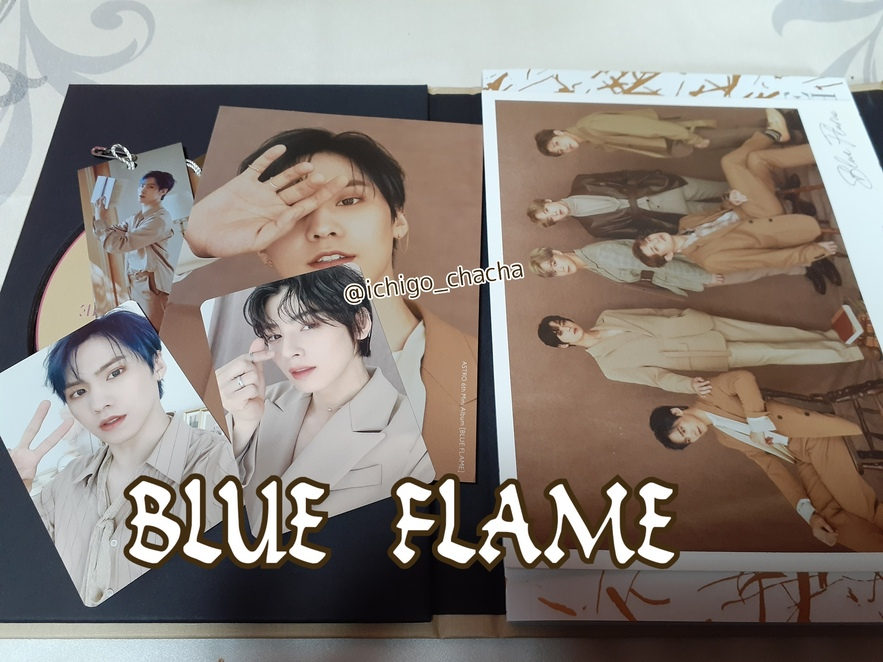 BLUE FLAME123購入
