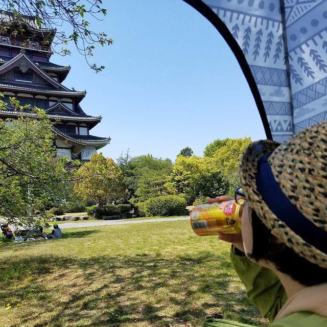 伏見桃山城でコートレット_006