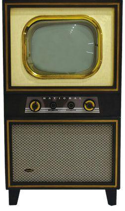 松下電器製 第1号機 白黒テレビ