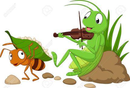 「アリとキリギリス」の原題は、「セミとアリ」だった?