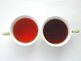 紅茶にハチミツ