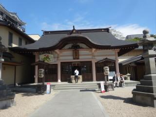 愛知岡崎城龍城神社