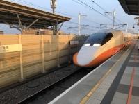 台湾新幹線で台北へ200229