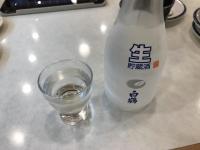 寿司で清酒一杯200405